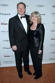 Al Gore and Tipper Gore at the 2007 Clive Davis Pre-Grammy Awards Party. Beverly Hilton Hotel, Bever