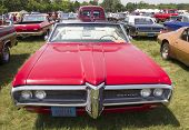 1968 Red Pontiac Catalina