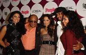 Quincy Jones and family at the People Magazine Post Grammy Party. Eleven, West Hollywood, CA. 02-11-07