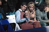 Perry Farrell and Etty Farrell inside at the 2006 GM TEN Fashion Show. Paramount Studios, Hollywood,