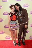 Emma Watson and Ezra Miller at the 2012 Video Music Awards Arrivals, Staples Center, Los Angeles, CA 09-06-12