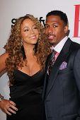 Mariah Carey, Nick Cannon at the 2012 BMI Urban Awards, Saban Theatre, Beverly Hills, CA 09-07-12
