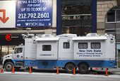 New York State Division of Homeland Security and Emergency Services mobile command center