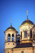 image of ascension  - Christian church of the Ascension in Zvenigorod  - JPG