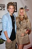 Cody Simpson, Alli Simpson at the Carly Rae Jepsen Album Release Party For Debut Record