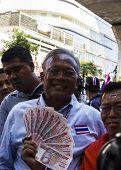 Bangkok, Thailand - January 30, 2014:pdrc Leader Suthep Thaugsuban