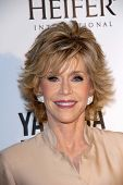 Jane Fonda at Heifer International's