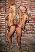 Holly Meowy, Jenae Alt at the Paradise Bikini Celebrity Fashion Show, Blvd. 3, Hollywood, CA 11-09-12