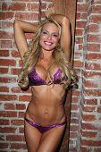 Jenae Alt at the Paradise Bikini Celebrity Fashion Show, Blvd. 3, Hollywood, CA 11-09-12