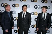 Jesse Tyler Ferguson, Harry Shum Jr., Chord Overstreet at the GQ Men Of The Year Party, Chateau Marmont, West Hollywood, CA 11-13-12