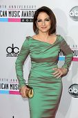 Gloria Estefan at the 40th American Music Awards Arrivals, Nokia Theatre, Los Angeles, CA 11-18-12