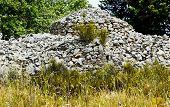 stone ruin countryside of Puglia - Italy