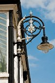 Street Lamp on an Old