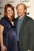 Bryce Dallas Howard and Ron Howard at the Glamour Reel Moments Short Film Series presented by Cartier. Directors Guild of America, Los Angeles, CA. 10-16-06