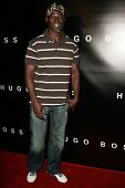 Djimon Hounsou at Hugo Boss's