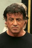 Sylvester Stallone at the Ceremony honoring Bruce Willis with the 2,321st star on the Hollywood Walk of Fame. Hollywood Boulevard, Hollywood, CA. 10-16-06