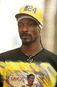 Snoop Dogg at the Ceremony Honoring Los Angeles Lakers Owner Jerry Buss with the 2,323rd star on the Hollywood Walk of Fame. Hollywood Boulevard, Hollywood, CA. 10-30-06