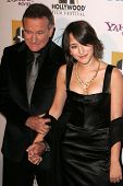Robin Williams and Zelda Williams at the Hollywood Film Festival's 10th Annual Hollywood Awards Gala
