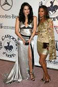Katharine McPhee and Halle Berry at the 17th Carousel of Hope Ball to benefit The Barbara Davis Cent