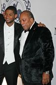 Usher and Quincy Jones at the 17th Carousel of Hope Ball to benefit The Barbara Davis Center for Childhood Diabetes. Beverly Hilton Hotel, Beverly Hills, CA. 10-28-06