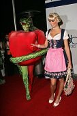 Heidi Klum and Lena Gercke at Heidi Klum's 7th Annual Halloween Party, Privilege, Los Angeles, CA 10-31-06