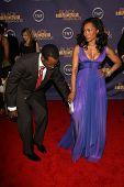 Courtney B Vance and Angela Bassett at the 2006 TNT Black Movie Awards. Wiltern Theatre, Los Angeles, CA. 10-15-06