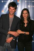 Richard Cox and Courteney Cox at the NBC fall party for the hit drama