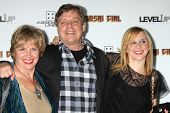 Mark Hamill, Marilou York, Chelsea Hamill  at the Premiere Of