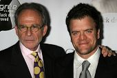 BEL AIR, CA - NOVEMBER 18: Ron Rifkin and Kevin Weisman at the 5th Annual