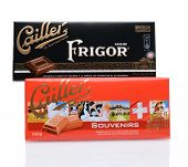 Two Cailler Chocolate Bars