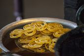 Jalebi - A Indian sweet dish