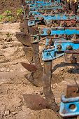 image of cultivator-harrow  - Agricultural machinery - JPG