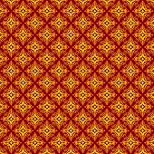 stock photo of batik  - Traditional abstract batik shape vector background pattern - JPG