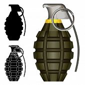 World War II Pineapple Hand Grenade