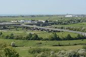 A27 Flyover At Shoreham. Sussex. England