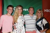 LOS ANGELES - JUL 14:  Chase Chrisley, Savannah Chrisley, Todd Chrisley, Julie Chrisley at the NBCUn