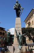 Monument to Vittorio Emanuele II, Santa Margherita Ligure, Liguria, Italy