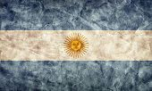 Argentina grunge flag. Vintage, retro style. High resolution, hd quality. Item from my grunge flags