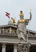 Pallas Athena, Austrian Parliament Building.
