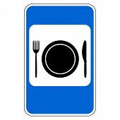 Food Item Road Sign