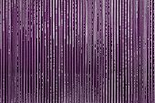 Abstract Textural Strips Of Violet Color