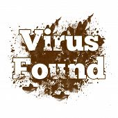 Virus Found Messy Blot