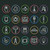 Painter Icon Set