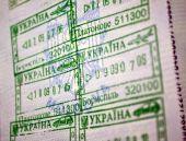 Passports Entry Stamps To Ukraine
