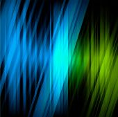 Dream lights background with blue color