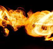Night Performance Human Torch