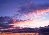 Sunset Paradise Setting Sun
