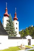 foto of divine  - fortified church of All Saints - JPG