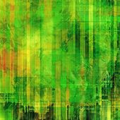 Abstract blank grunge background, old texture with stains and different color patterns: orange; yellow; green