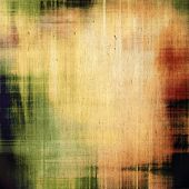 Rough vintage texture. With different color patterns: green; brown; yellow
